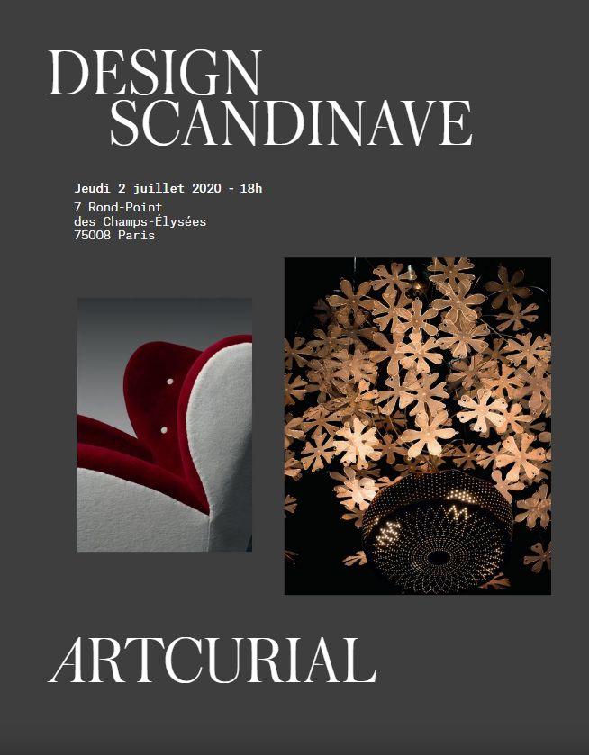 Vente Design Scandinave chez Artcurial : 105 lots