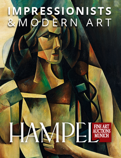 Vente Catalogue IV -  Impressionnistes, Art Moderne, Tableaux 19e et 20e chez Hampel Fine Art Auctions : 141 lots
