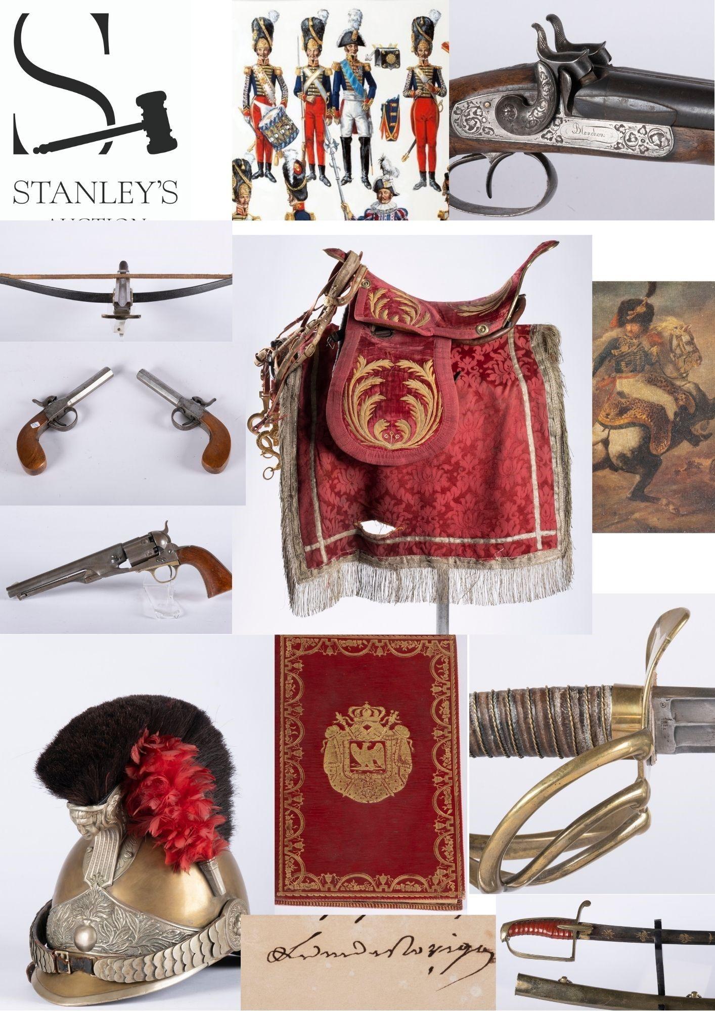 Vente Militaria & Histoire chez Stanley's Auction : 233 lots