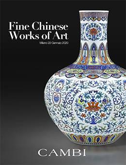 Vente Importants Objets d'Art de la Chine (Milano)  chez Cambi Casa d'Aste : 652 lots
