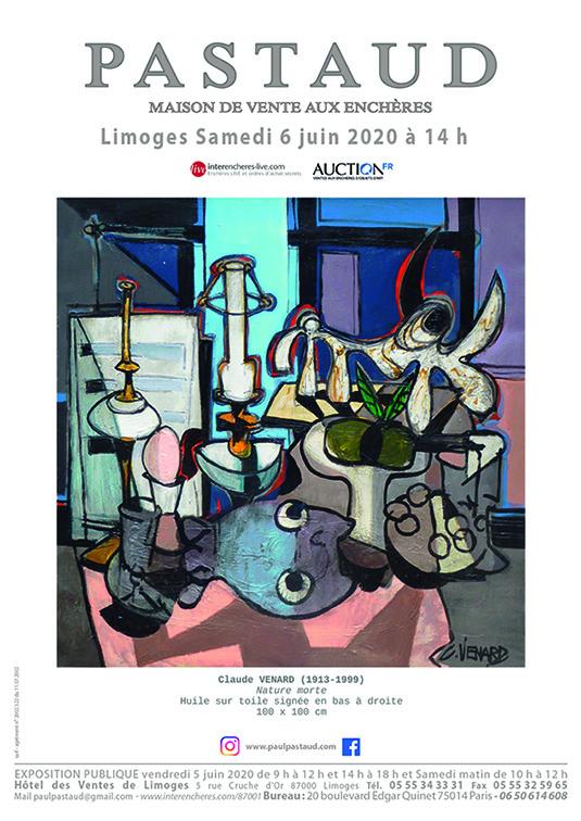 Vente Tableaux, Mobilier, Objets d'Art chez PASTAUD Maison de Ventes aux Enchères : 316 lots