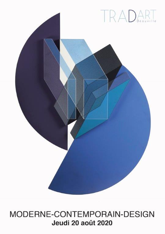 Vente Art Moderne et Contemporain, Design chez Tradart Deauville : 473 lots