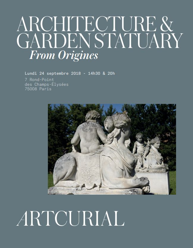 Vente Architecture  & Garden Statuary - Vacation 1 chez Artcurial : 327 lots