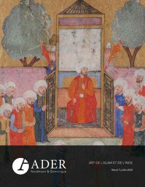 Vente Arts de l'Islam et de l'Inde chez Ader : 289 lots