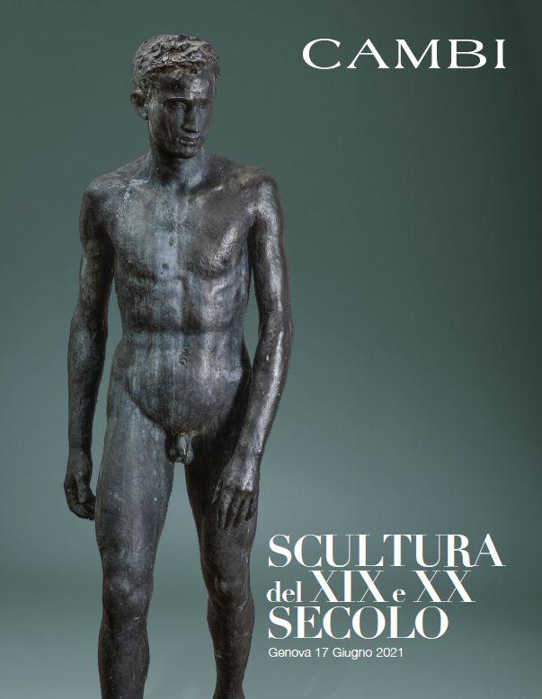 Vente Sculptures du XIX-XXème siècle (Genova) chez Cambi Casa d'Aste : 112 lots