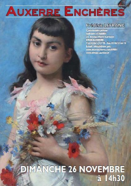 6c846a288bb Catalogue de la vente Belle Vente Mobilière à Auxerre Enchères - Fin de la  vente le 26 Novembre 2017