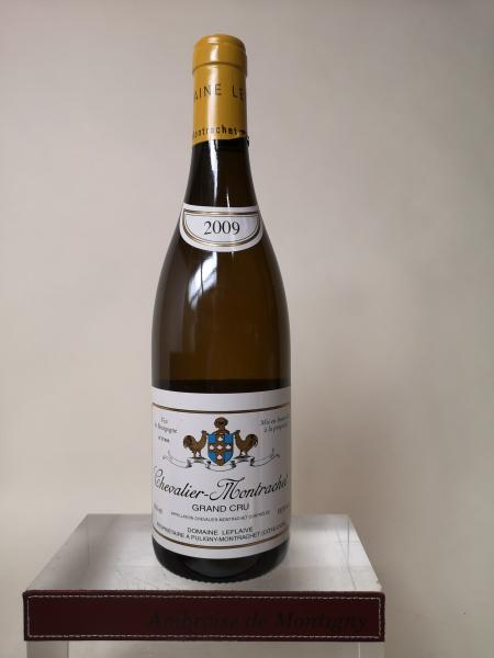 1 bouteille CHEVALIER MONTRACHET Grand cru - Domaine Leflaive 2009  -  Capsule [...]