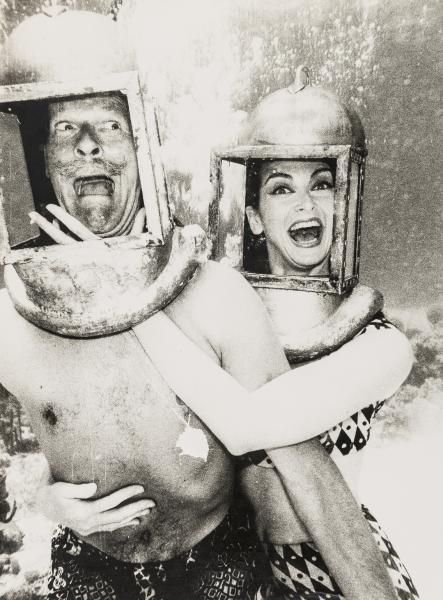 NO RESERVE Norman Parkinson (1913-1990) Parks and Carmen in Diving Helmets; Parks and [...]