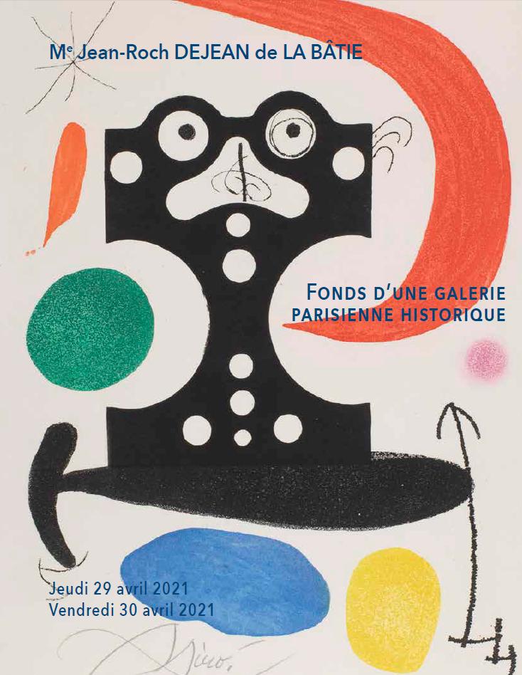 Vente Fonds d'une galerie parisienne historique : dessins, tableaux, estampes chez Brunel - Dejean de La Bâtie : 173 lots