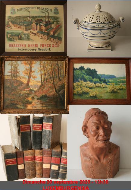 Auction Luxemburgensia at Kanerz Art : 542 lots
