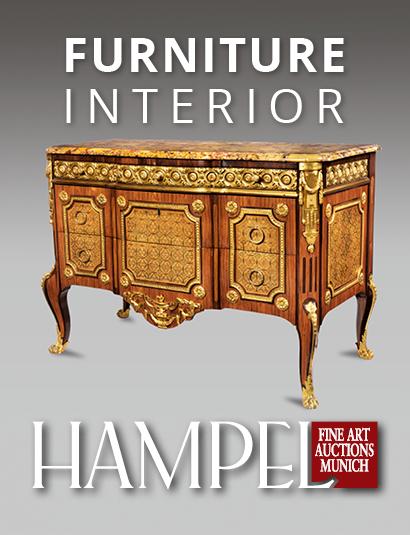 Vente Catalogue I - Mobilier & Intérieur chez Hampel Fine Art Auctions : 284 lots