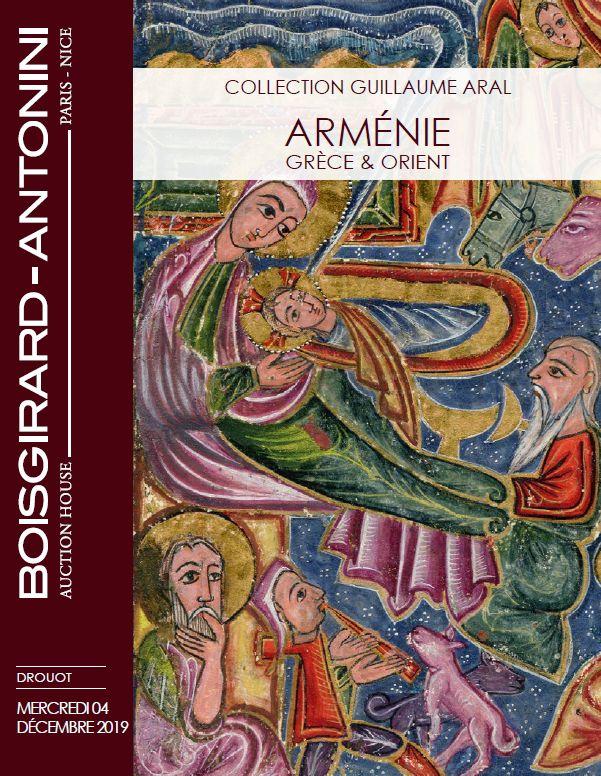 Vente Collection Guillaume Aral : Arménie - Grèce et Orient chez Boisgirard Antonini Paris : 173 lots