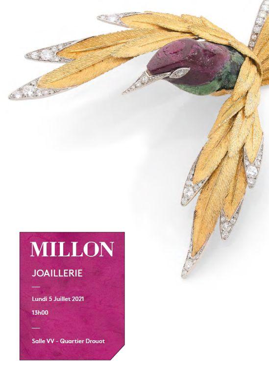 Vente Joaillerie chez Millon et Associés Paris : 236 lots