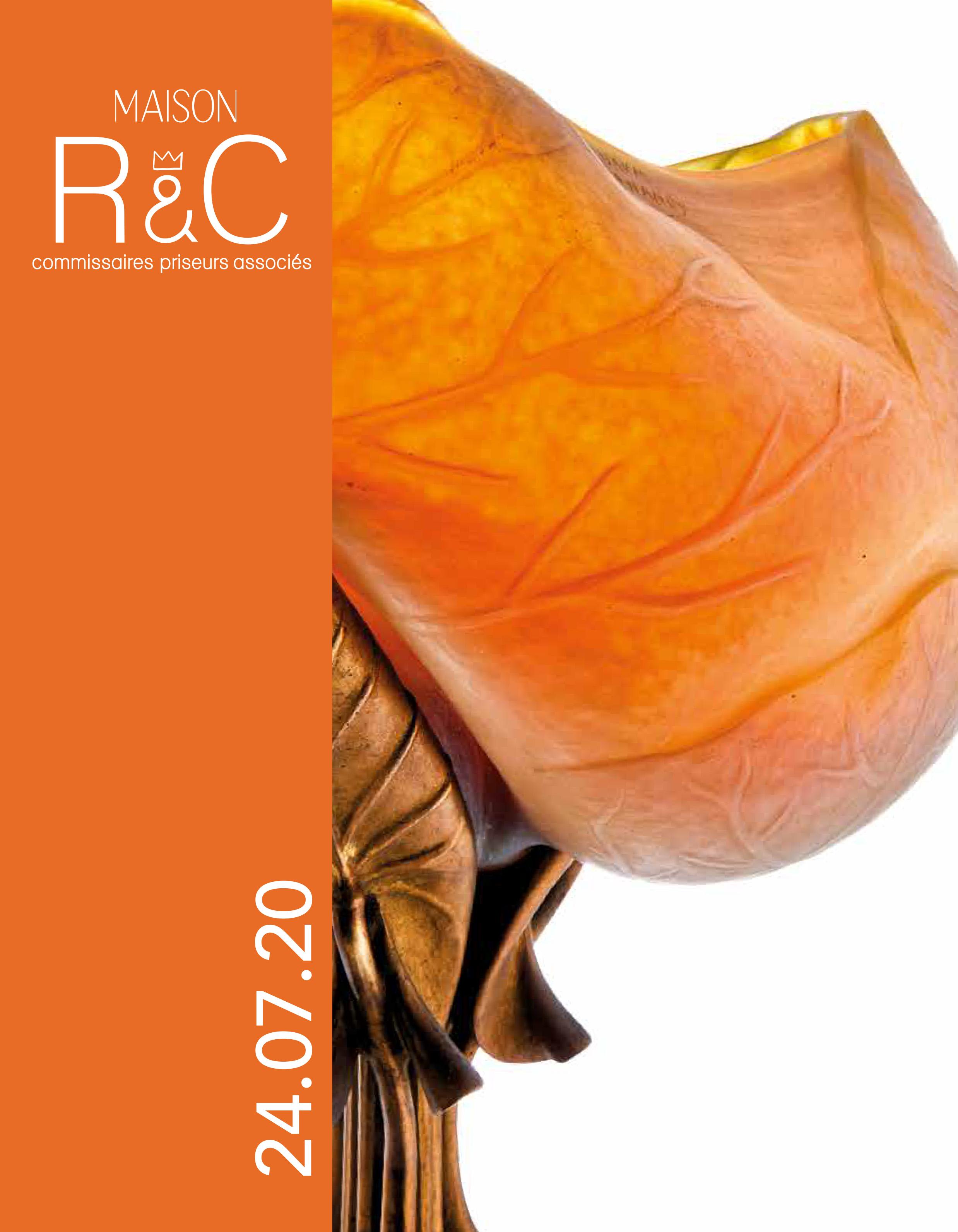 Vente Arts Décoratifs du XXe Siècle chez Maison R&C Commissaires-Priseurs Associés : 182 lots