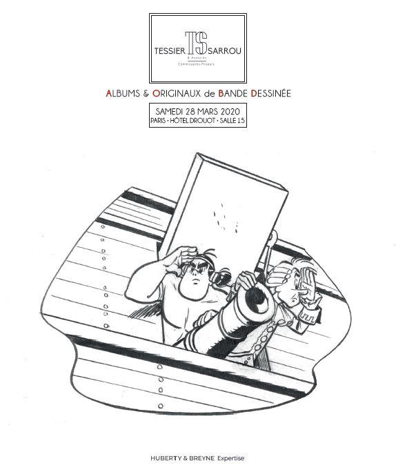 Vente Albums & Originaux de Bande Dessinée chez Tessier-Sarrou & Associés : 604 lots