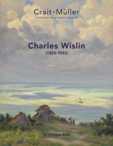 Auction Atelier Charles Wislin (1852-1932) at Crait + Muller : 347 lots