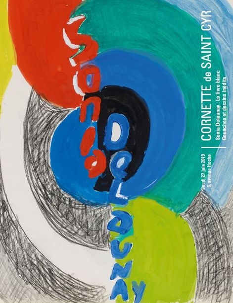 Vente  Sonia Delaunay : Le Livre Blanc - Une suite de gouaches et dessins inédits chez Cornette de Saint Cyr Paris : 36 lots