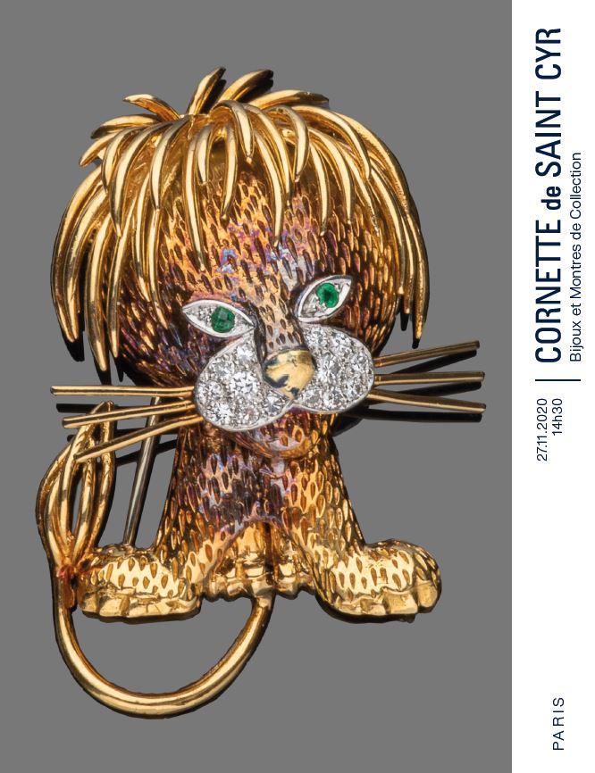 Vente Bijoux & Montres de collection (Vente à huis clos)  chez Cornette de Saint Cyr Paris : 195 lots