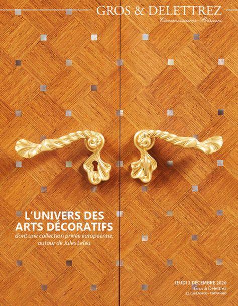 Vente L'Univers des Arts Décoratifs chez Gros - Delettrez : 144 lots