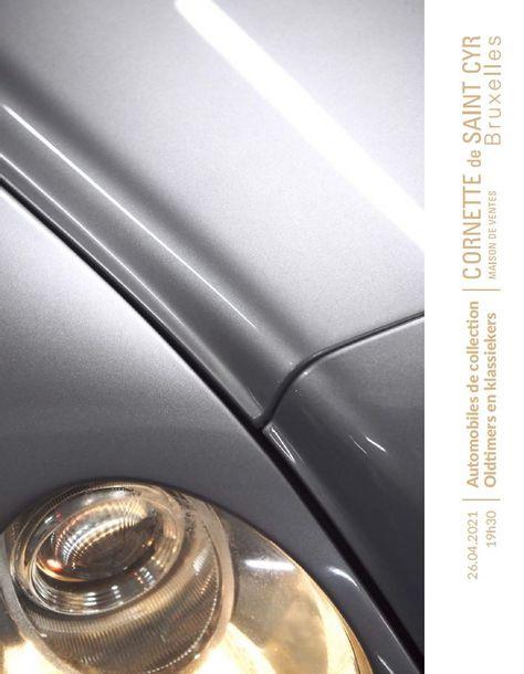 Vente Automobiles de Collection  chez Cornette de Saint Cyr Bruxelles : 33 lots