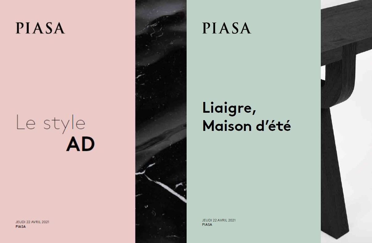 Vente Le Style AD : Artistes Décorateurs - Design Contemporain chez Piasa : 245 lots