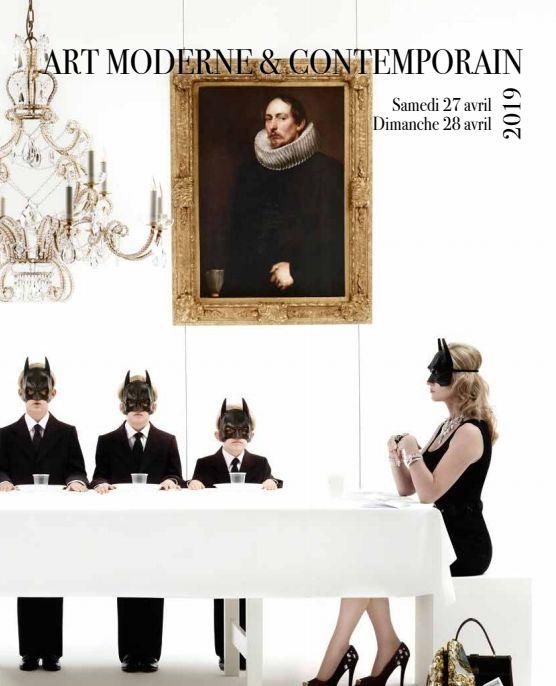 Vente Art Moderne et Contemporain chez Cannes Enchères : 358 lots