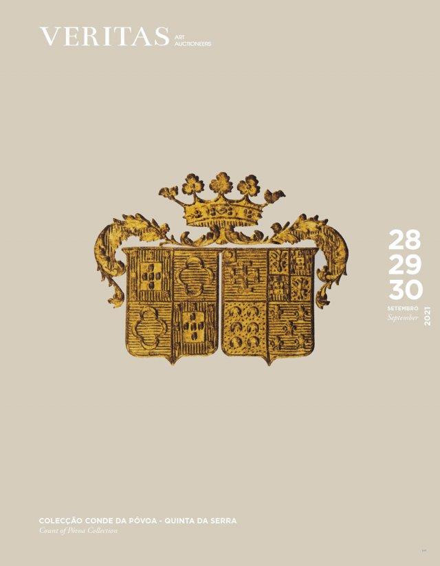 Auction Collection Comte de Póvoa - Quinta da Serra   Antiquités & Objets d'Art, Argenterie, Bijoux, Art Contemporain at Veritas Art Auctioneers : 327 lots