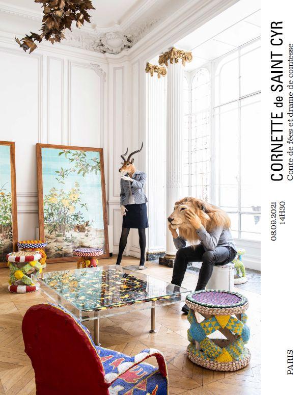 Vente Conte de Fées et Drame de Comtesse chez Cornette de Saint Cyr Paris : 129 lots