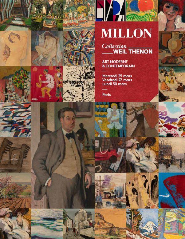 Vente Collection Weil Thenon - Tableaux modernes - Partie III (30 Mars) - Vente Reportée chez Millon et Associés Paris : 541 lots