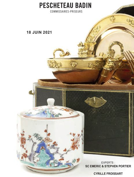 Vente Orfèvrerie & Céramiques Asiatiques chez Pescheteau-Badin : 446 lots