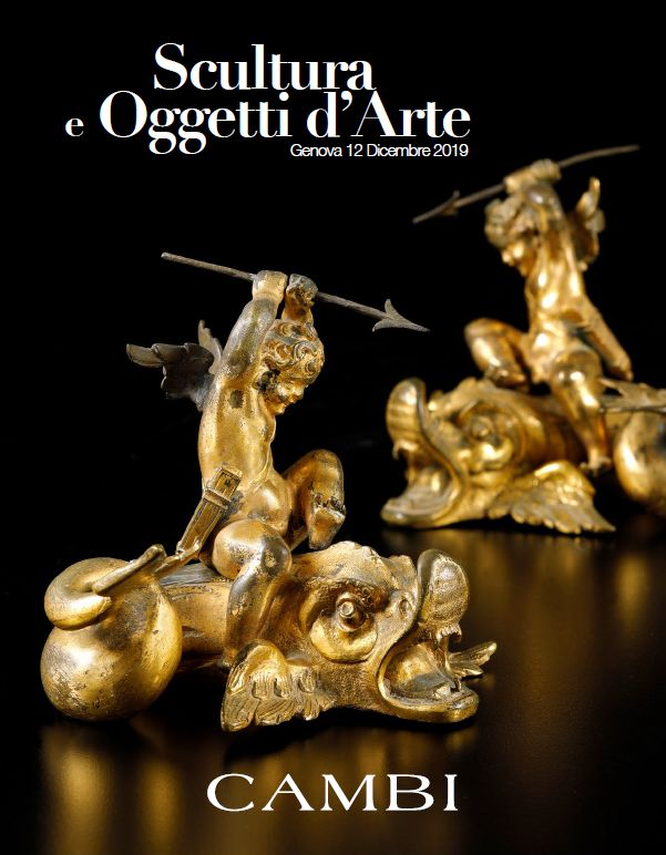 Vente Sculptures & Objets d'Art (Genova) chez Cambi Casa d'Aste : 144 lots