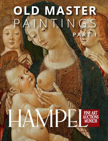 Vente Catalogue II - Tableaux de Maîtres anciens part I chez Hampel Fine Art Auctions : 139 lots