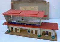 Gare Hornby N 21 Démontable En Panneau Isorel Laqué