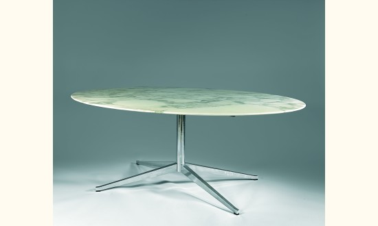 Table Ovale En Marbre Interesting Knoll Table Ovale M With Table