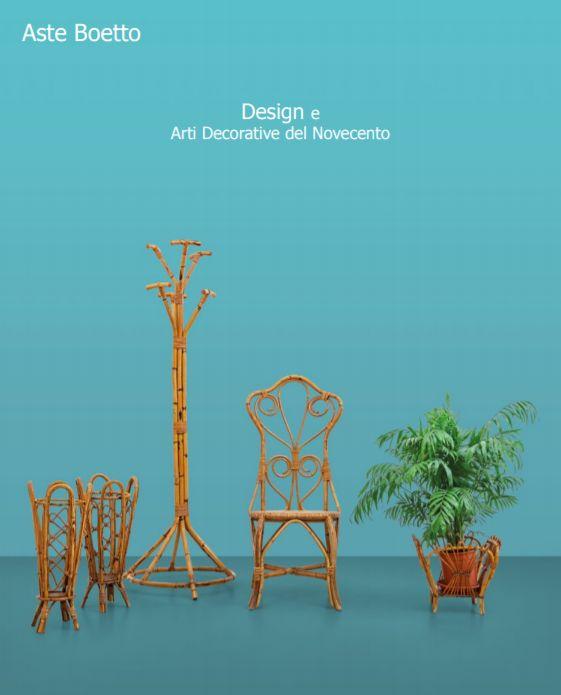 Vente Design et Arts Décoratifs du 20ème chez Aste di Antiquariato Boetto : 665 lots