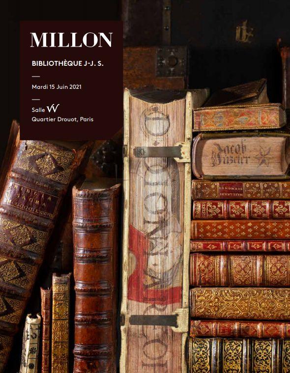 Vente Bibliothèque J-J S. chez Millon et Associés Paris : 144 lots