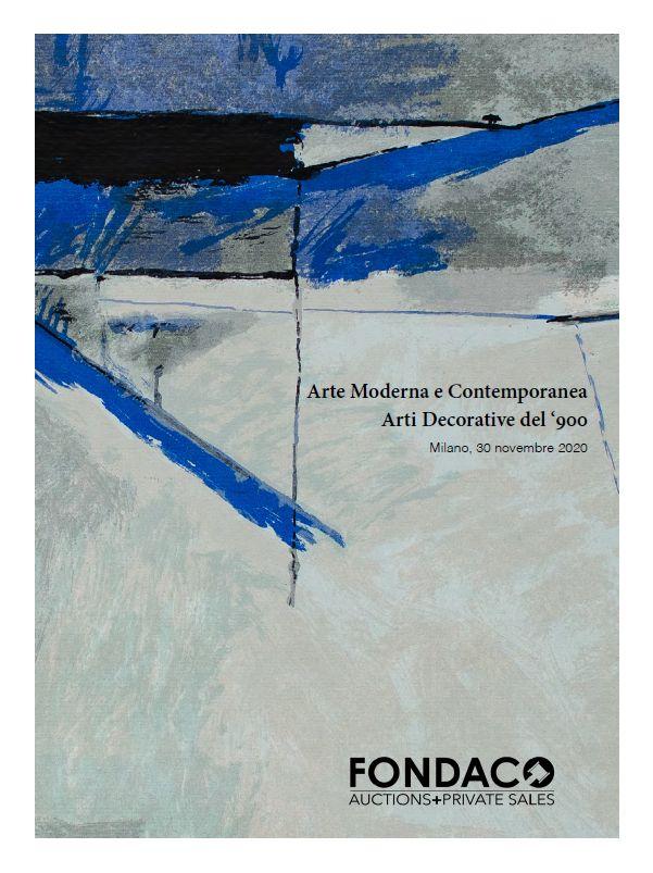 Vente Art Moderne et Contemporain, Arts Décoratifs du XXème siècle chez Fondaco Aste : 119 lots