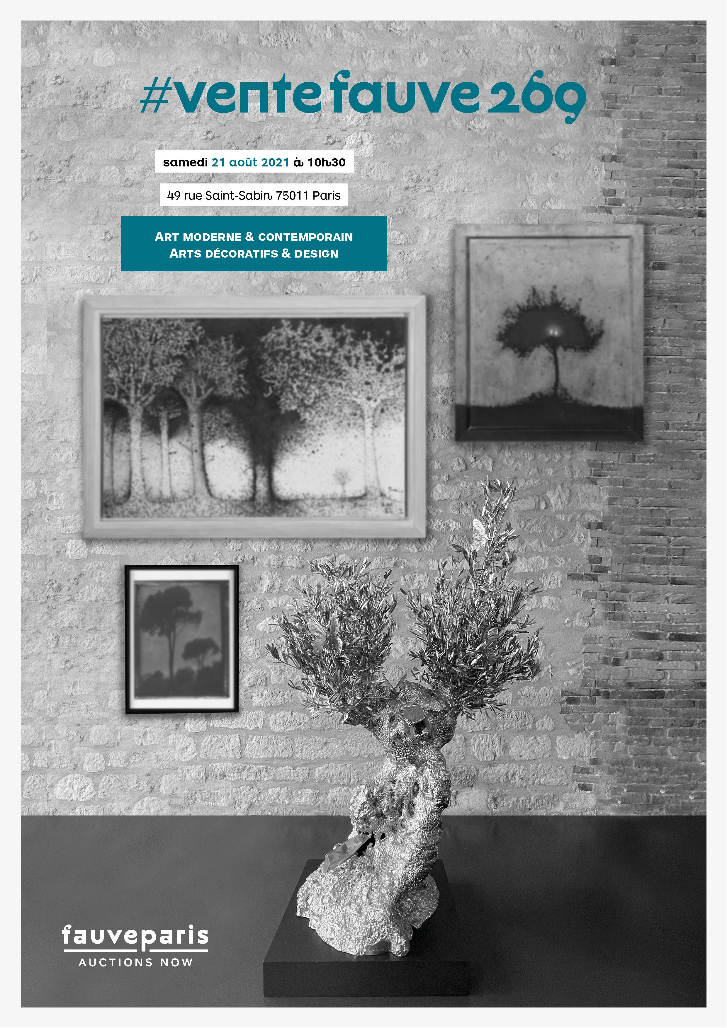 Vente Art Moderne & Contemporain • Arts Décoratifs & Design chez FauveParis : 77 lots