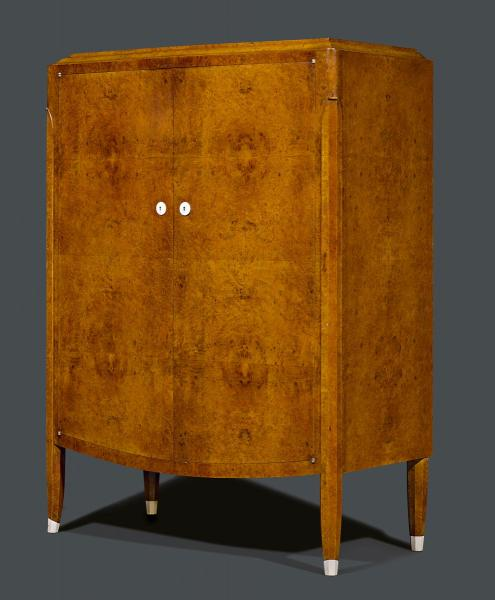 JULES LELEU  - (1883-1961)  - HALF-HEIGHT CABINET WITH DRAWERS