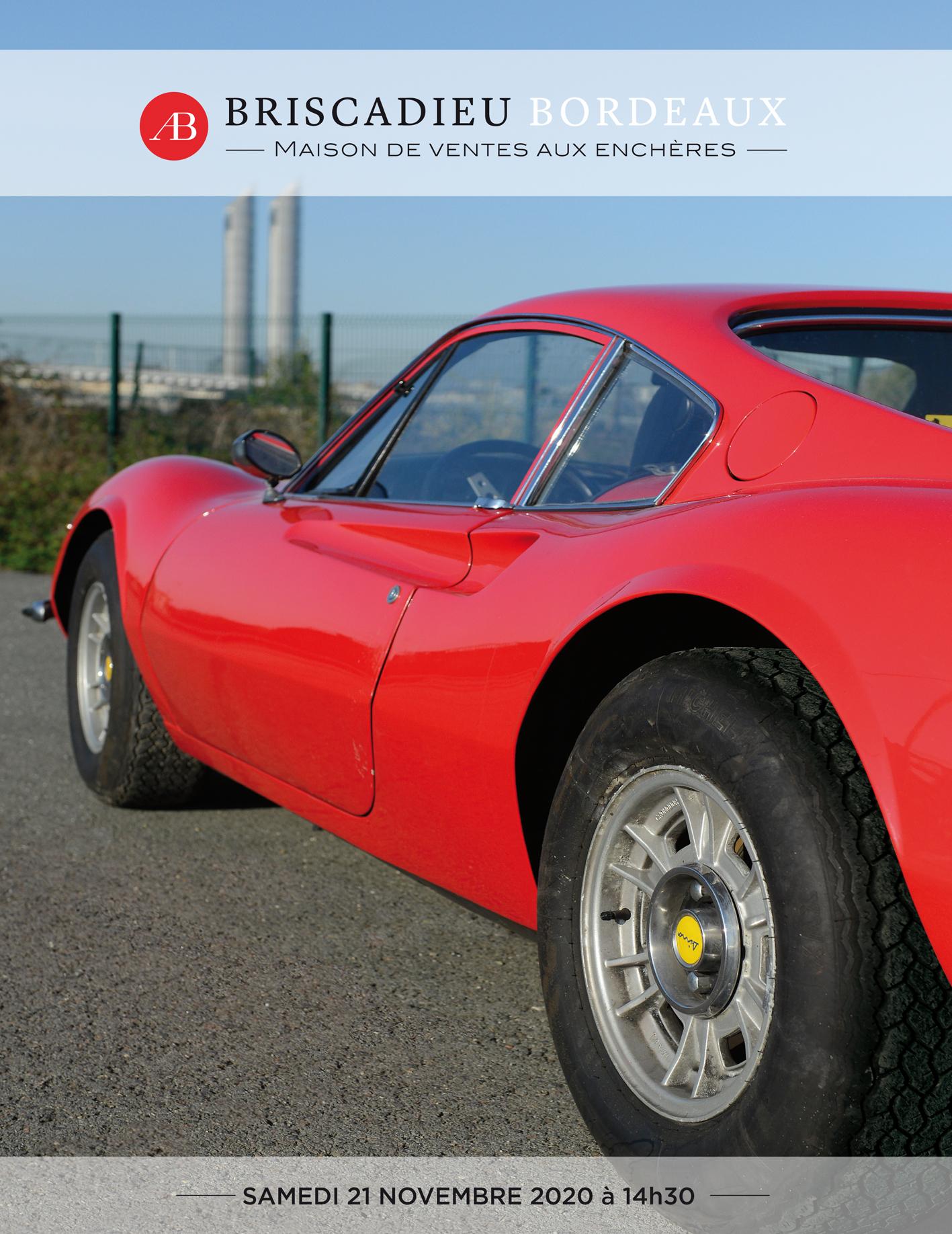 Vente Automobiles de Collection chez Briscadieu Bordeaux : 16 lots