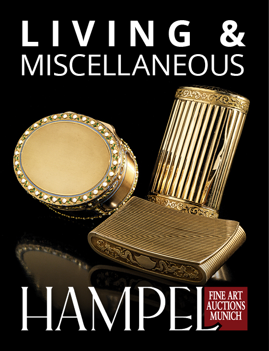 Vente Catalogue VII - Hampel Living & Objets de décoration chez Hampel Fine Art Auctions : 625 lots