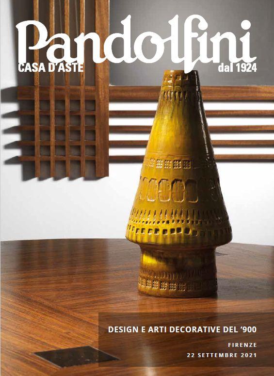 Auction Design et Arts Décoratifs (Firenze) at Pandolfini Casa d'Aste : 261 lots
