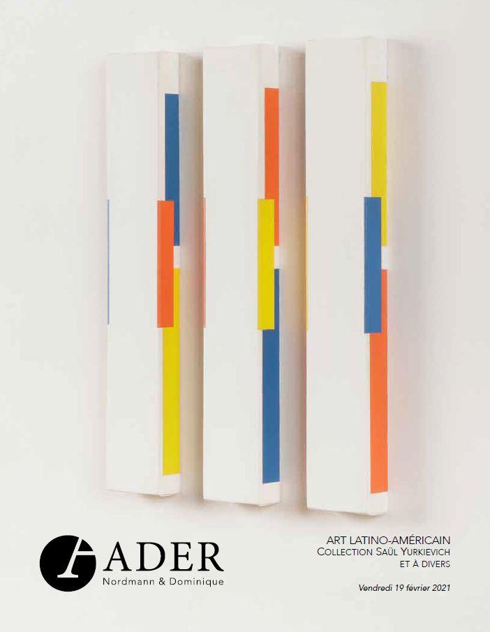 Vente Art Latino-Américain - Collection Saül Yurkievich et à divers chez Ader : 139 lots