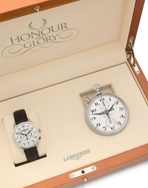 O - LONGINES   - Honour and Glory  - Vers 2003  -   - Coffret commémoratif [...]