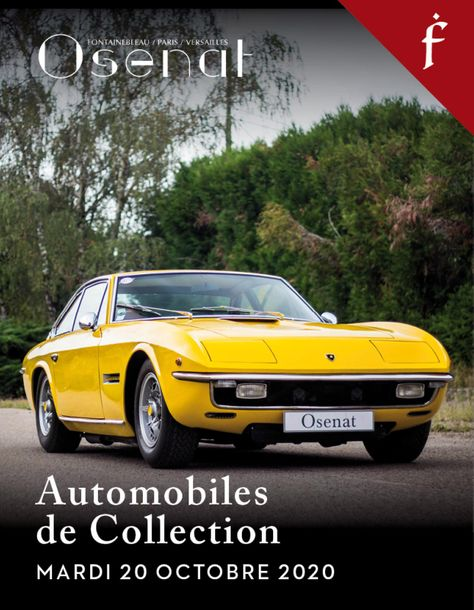Vente Automobiles de Collection, Automobilia (Fontainebleau) chez Osenat : 55 lots