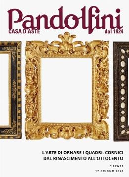 Vente L'Art d'orner les Peintures : Cadres de la Renaissance au XIXème siècle (Firenze) chez Pandolfini Casa d'Aste : 183 lots