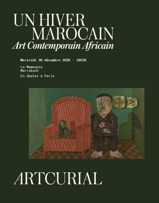 Vente Un Hiver Marocain - Art Contemporain Africain (Marrakech) chez Artcurial : 75 lots