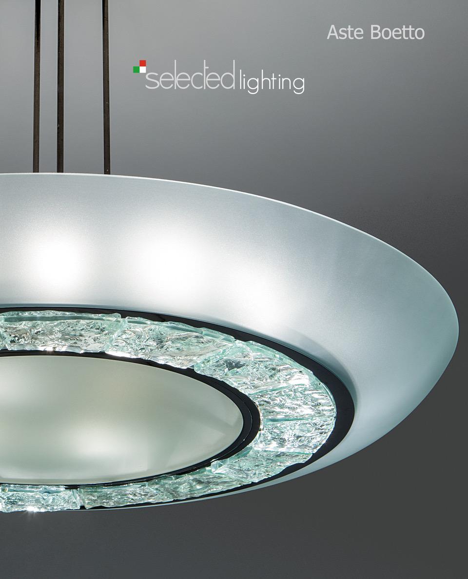 Vente Selected Lighting chez Aste di Antiquariato Boetto : 120 lots
