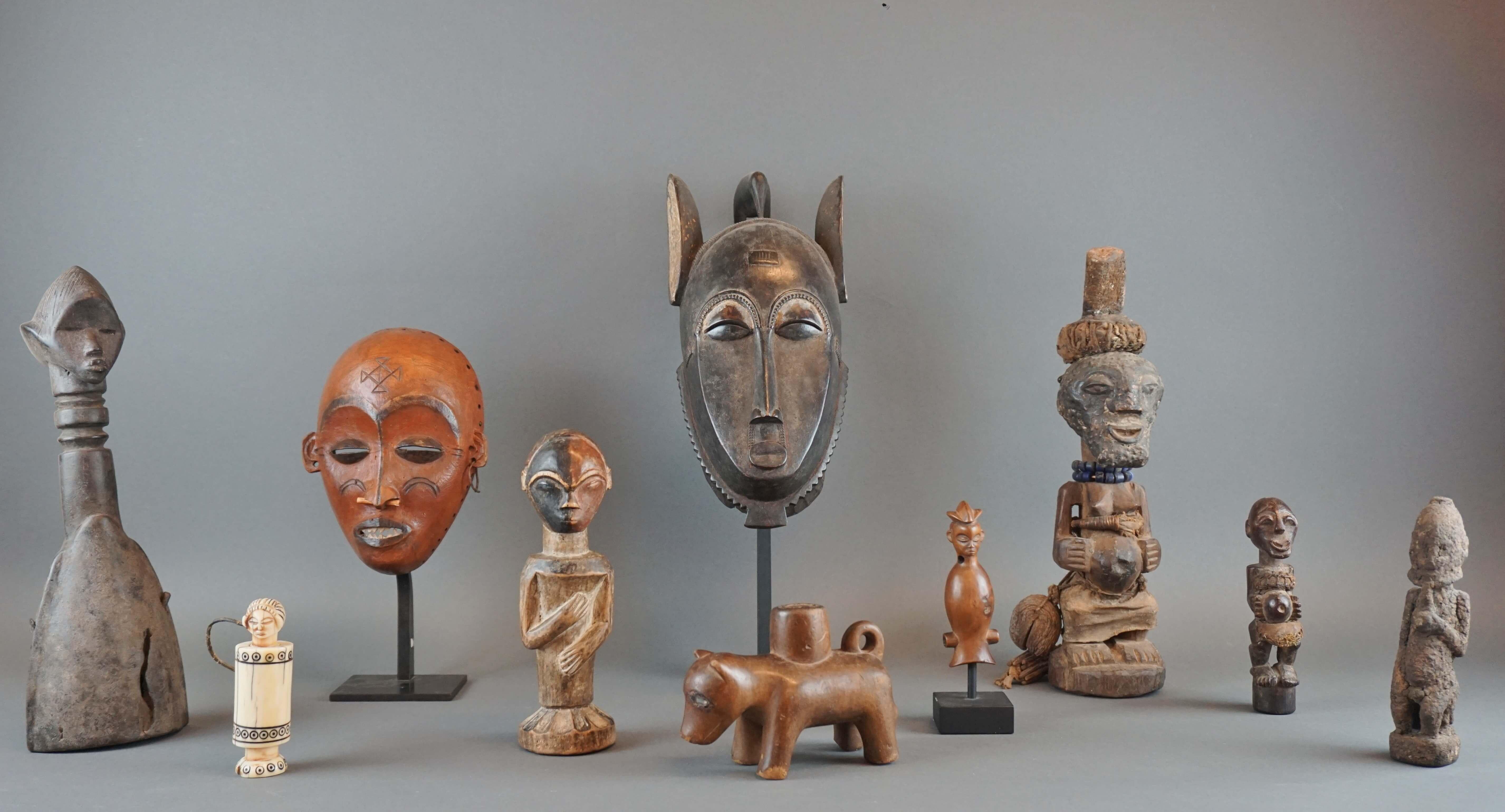 Vente Arts d'Afrique et d'Océanie chez Hôtel des Ventes Legros : 214 lots
