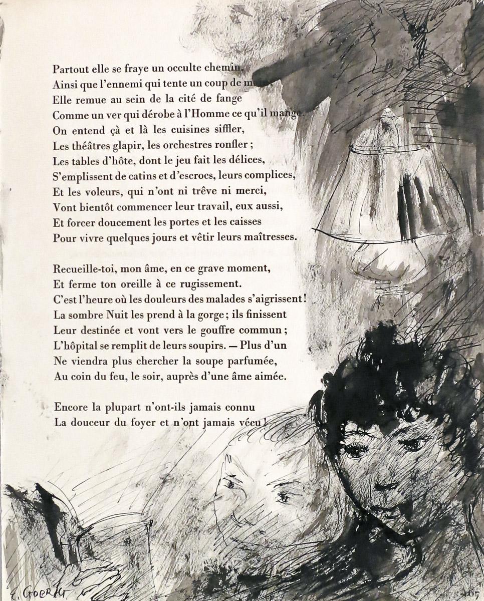Baudelaire Charles Les Fleurs Du Mal Spleen Et Ideal Tableaux Parisiens Lot 391 Livres Du Xvieme Au Xxeme Siecles Chez Godts Auction Fr